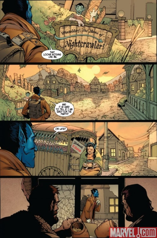 X-MEN: MANIFEST DESTINY - NIGHTCRAWLER #1 preview page 5