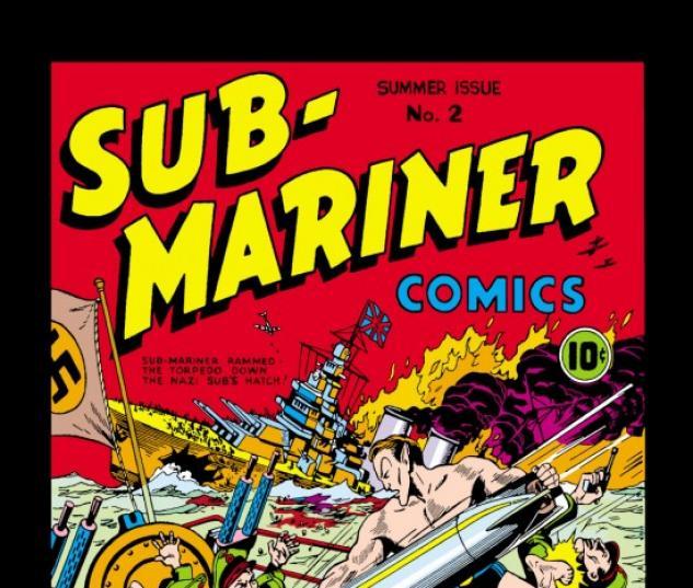 Sub-Mariner Comics #2