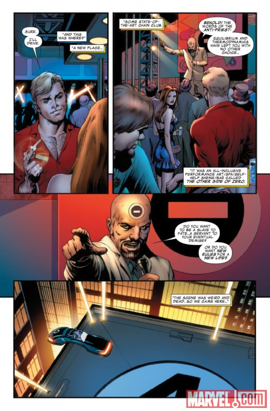 FANTASTIC FOUR #578 preview art by Dale Eaglesham