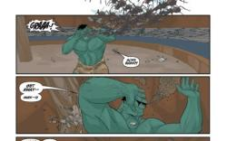 AVENGERS: THE ORIGIN #4 preview art by Philip J. Noto