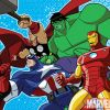 Image Featuring Captain America, Hulk, Iron Man