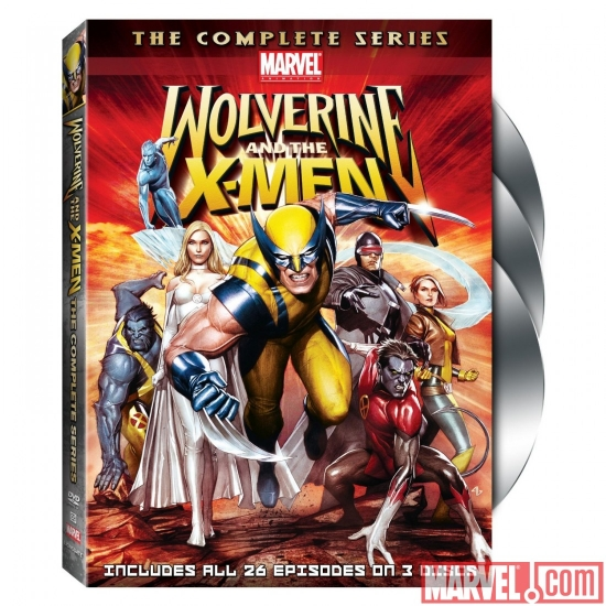 Image Featuring Iceman, Nightcrawler, Rogue, Wolverine, Beast, Cyclops