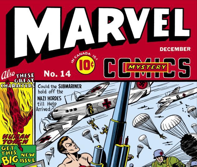 Marvel Mystery Comics (1939) #14 Cover
