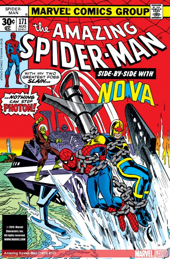Amazing Spider-Man (1963) #171 Cover