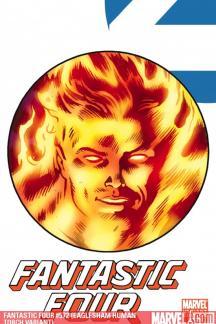 Fantastic Four (1998) #572 (EAGLESHAM HUMAN TORCH VARIANT)