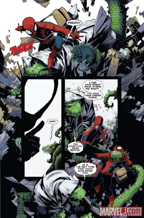 AMAZING SPIDER-MAN #633 preview art by Chris Bachalo