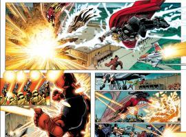 Avengers (2010) #25 preview art by Walter Simonson