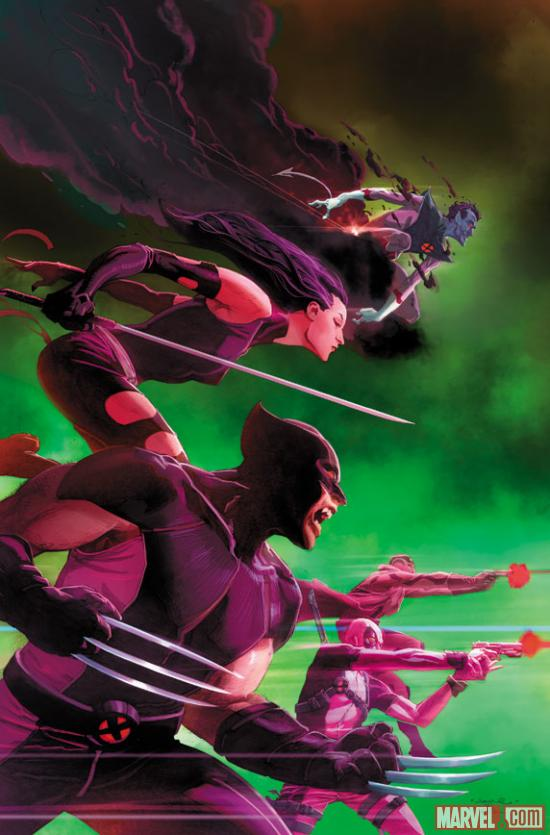Uncanny X-Force #25 cover preview by Jerome Opena
