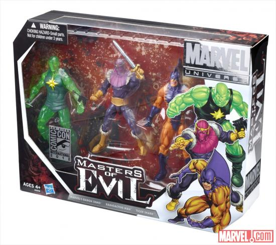 "Marvel Universe 3.75"" Masters of Evil Special Edition 3-Pack"