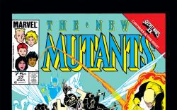 New Mutants (1983) #37 Cover