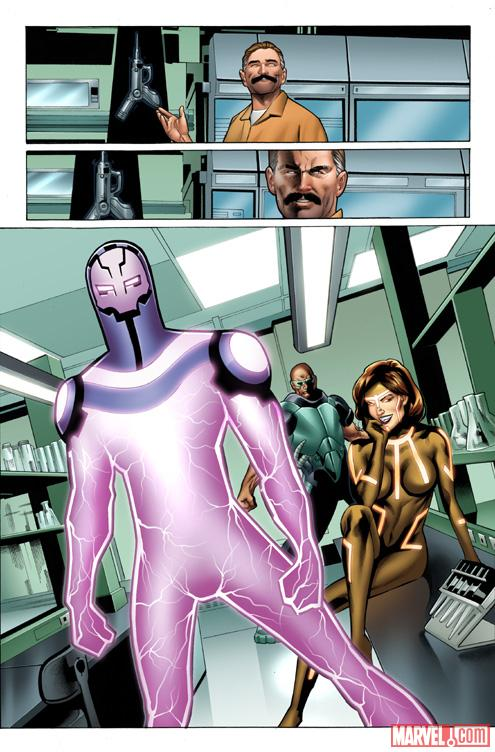 Iron Man (2012) #3 preview art by Greg Land