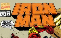 Iron Man (1968) #310 Cover