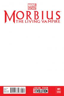 Morbius: The Living Vampire #1  (Blank Cover Variant)