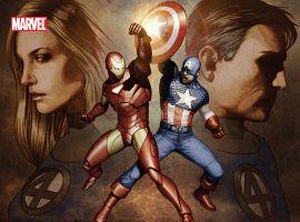 Civil War: Fantastic Four (2007) TPB