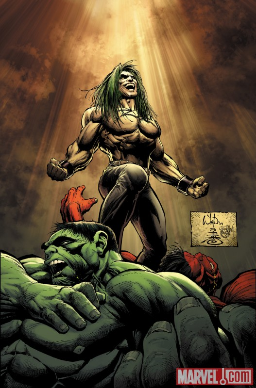 Image Featuring Doc Samson, Hulk