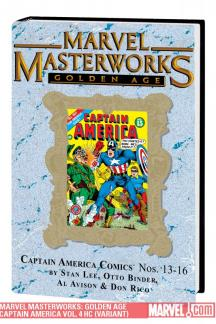 Marvel Masterworks: Golden Age Captain America Vol. 4 (Variant) (Hardcover)