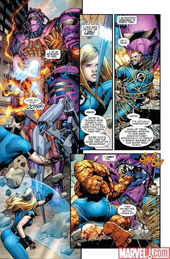 FANTASTIC FOUR #570 Interior Art