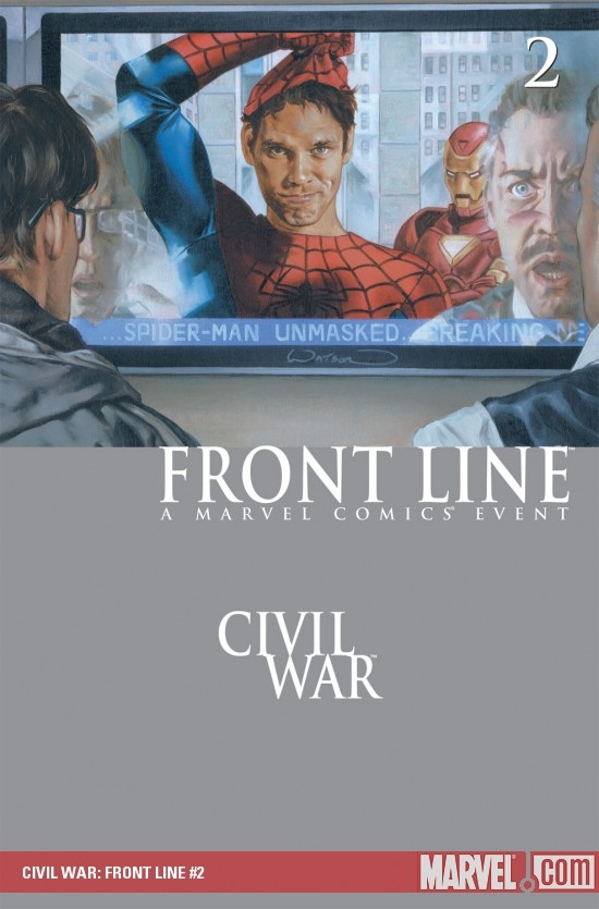 CIVIL WAR: FRONT LINE #2