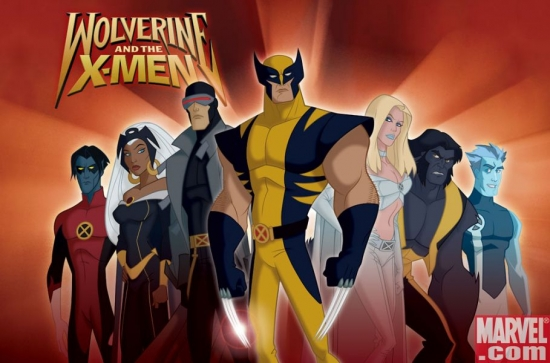 Wolverine and the X-Men animated series art