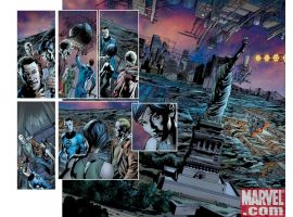 FANTASTIC FOUR #556 preview art by Bryan Hitch