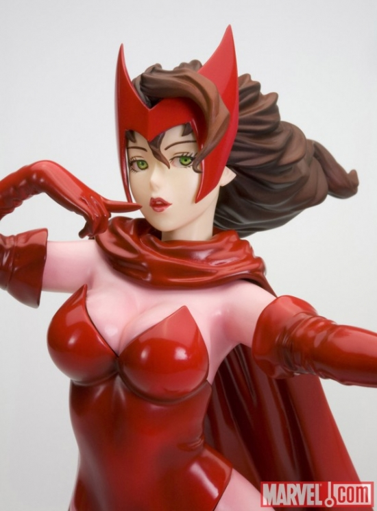 Scarlet Witch Bishoujo Statue from Kotobukiya