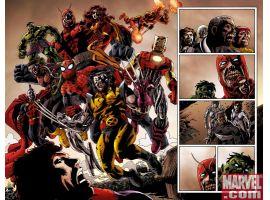 Marvel Zombies 2 #2 Interior Art