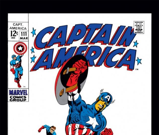 CAPTAIN AMERICA #111 COVER