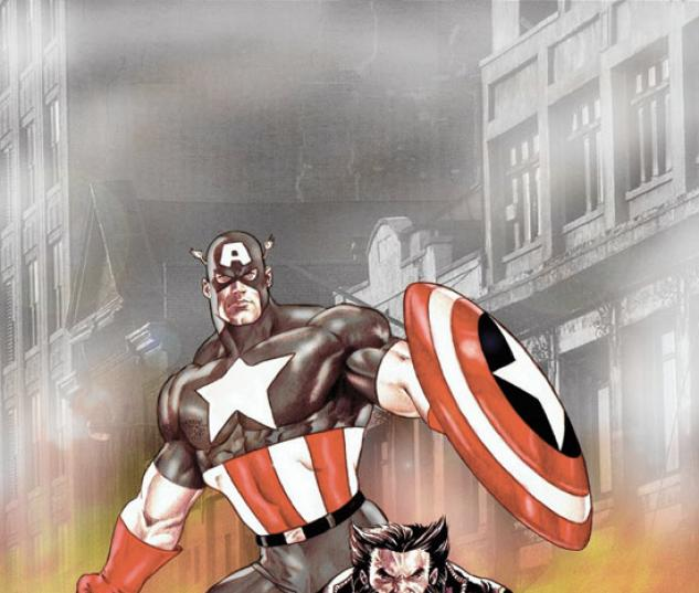 WOLVERINE/CAPTAIN AMERICA (2003) #1 COVER
