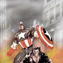 WOLVERINE/CAPTAIN AMERICA (2003) #1 COVER