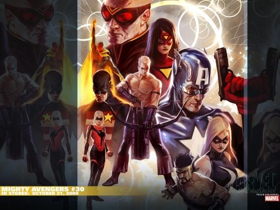 Mighty Avengers (2007) #30 Wallpaper