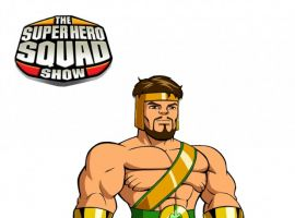 Final color art for Hercules from 'The Super Hero Squad Show' Season 2
