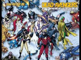CHAOS WAR: DEAD AVENGERS #1 preview page by Tom Grummett