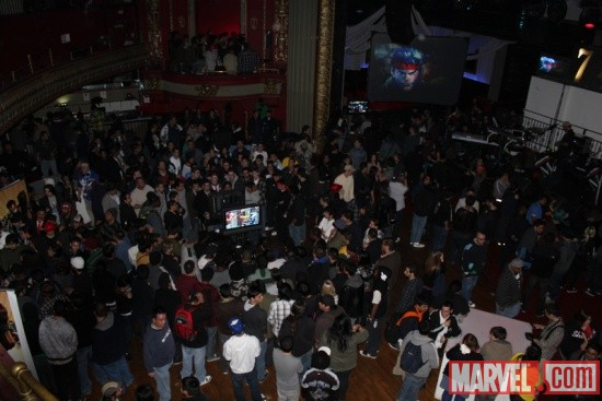 Crowd shot of the Marvel vs. Capcom 3 Fight Club