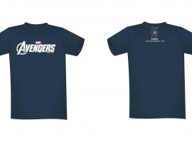 Thor NYCC 2011-exclusive Marvel's The Avengers tee-shirt