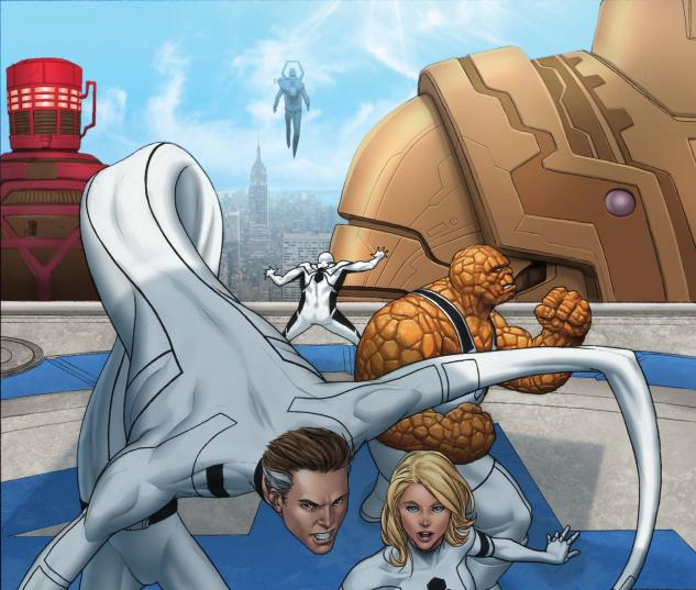 FANTASTIC FOUR #603 Cover