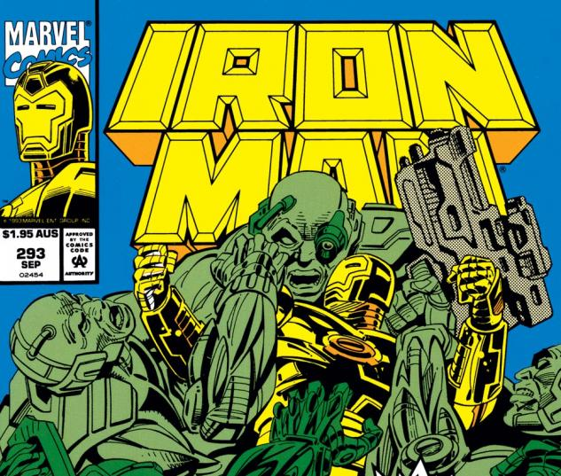 Iron Man (1968) #293 Cover