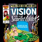 Vision and the Scarlet Witch (1985) #9 Cover