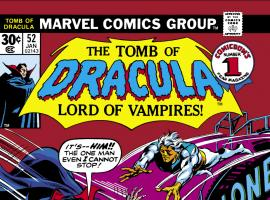 Tomb of Dracula (1972) #52 Cover