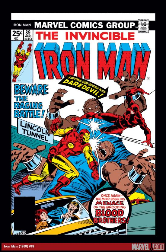 Iron Man (1968) #89 Cover