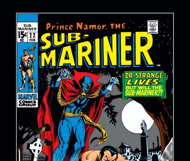 Sub-Mariner (1968) #22 Cover