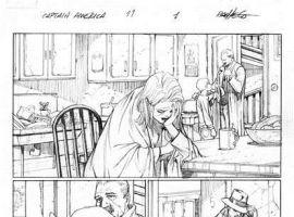 Captain America (2012) #11 preview pencils by Carlos Pacheco