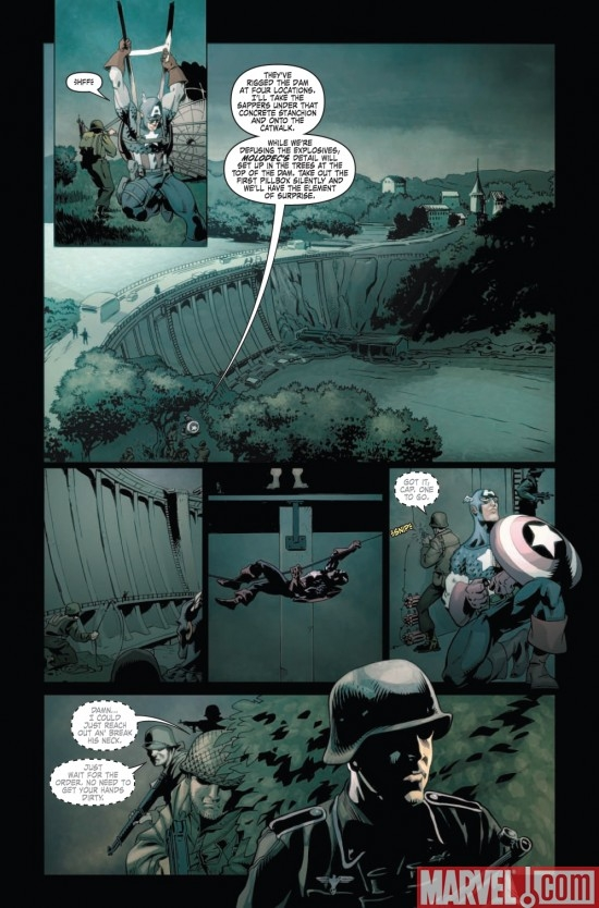 CAPTAIN AMERICA THEATER OF WAR: A BROTHER IN ARMS #1. page 4