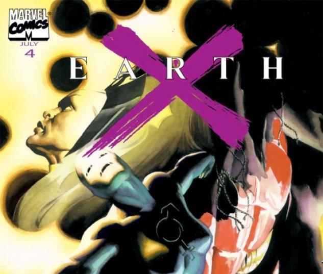 EARTH X #4 COVER