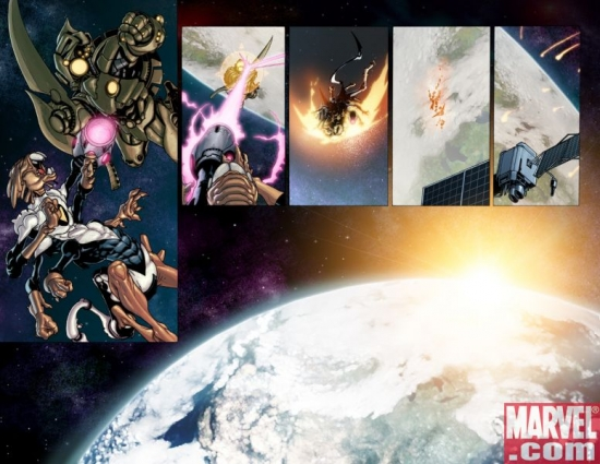 Avengers: The Initiative Annual #1 Interior Art