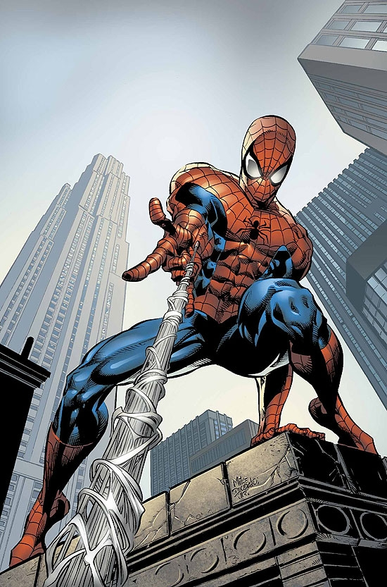 AMAZING SPIDER-MAN (2007) #520 COVER