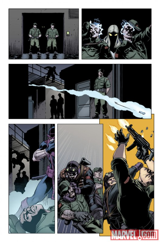 HAWKEYE & MOCKINGBIRD #3 preview art by David Lopez 2