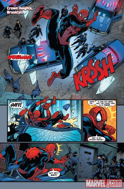 Amazing Spider-Man Presents: American Son #4 preview art by Philippe Briones