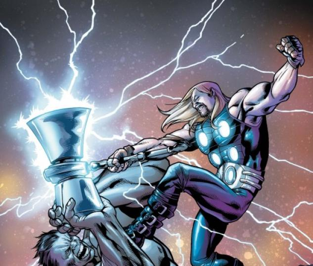 Ultimate Comics Thor #4 cover by Carlos Pacheco