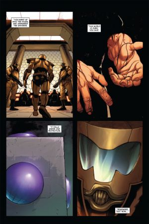 Avengers World #1 page by Stefano Caselli