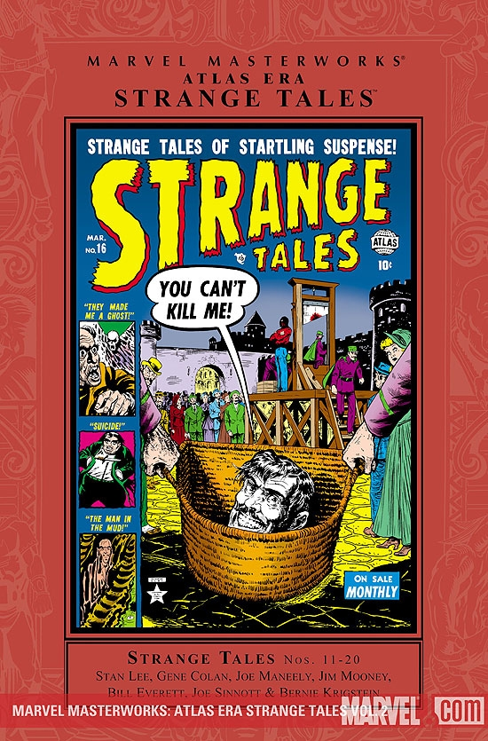 MARVEL MASTERWORKS: ATLAS ERA STRANGE TALES VOL. 2 #0